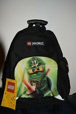 Cartable sac à dos à roulettes Trolley LEGO NINJAGO VERT NEW Rentrée des classes