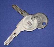 FÜR PORSCHE 924 924S 944 1 SCHLÜSSEL ROHLING HANDSCHUHFACH - 1985.5