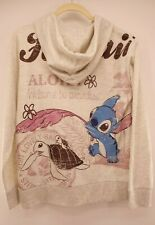 Disney Store MED Lilo & Stitch Hawaii Aloha With Turtle Hoodie Sweatshirt Jacket