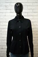 Camicia Donna GAP Taglia S Maglia Manica Lunga Shirt Woman Cotone Nera Chemise