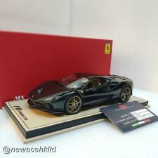 Ferrari F8 Tributo Nero Daytona Limited 25pcs MR COLLECTION 1/18 #FE027SE3