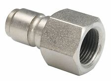 "1/4"" BSP Female Pressure Washer Mini 11.6mm Quick Release Plug Coupling"