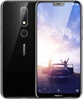 """Smartphone Nokia 6.1 Plus 64 Go 5.8"""" Android RAM 4 Go Noir désimlocké Grade A"""
