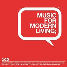 Modern living = Quantic/Thievery/trentemöller/Rivera... = 2cd = down ritmo nu jazz