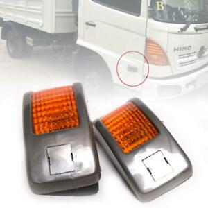 Side Marker Indicator Lamp Turn Signal Light Fit Hino Mega 500 Ranger 2003 ON