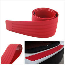 Red Door Sill Guard Car SUV Body Bumper Protector Trim Cover Protective Strip