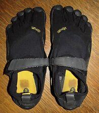 Mens 44 Five Fingers Vibram Water Trail Rafting Shoes Black Classic
