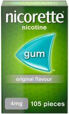 Nicorette Original 4mg Gum - 105 pieces