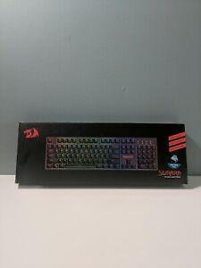 REDRAGON K582 SURARA RGB Gaming Keyboard Open Box