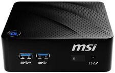 Mini PC MSI Cubi 120 Go SSD 4Go RAM Windows 10 Pro Office 2019 Pro Plus