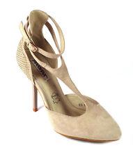Markenlose Größe 39 Damenschuhe aus Faux-Wildleder