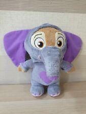 Disney zootropolis Deluxe Ele-Finnick Talking Soft Toy Plush éléphant Zootopia