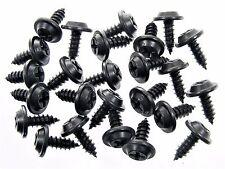 "Black #10 x 1/2"" Phillips Flat Top Trim Screws For Toyota- Qty.25- #212"