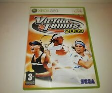 Virtua Tennis 2009 pal Spain/España Xbox 360/Sega
