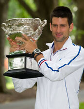Novak Djokovic 10 X 8 sin firmar Foto-P4-Grand Slam Tennis Champion