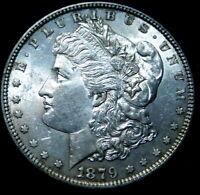 1879  Morgan Silver Dollar UNC A46-579