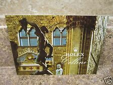 Vintage 2007 Rolex Your Cellini Booklet English  USA Seller!