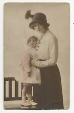 Early 1900s Hand Painted Real Photo Postcard Gladys Cooper Posted RPPC #2