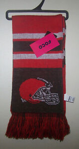 """Cleveland Browns NFL Winter Scarf 7 x 65"""""""