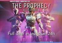 Destiny 2 Prophecy Dungeon Xbox-PC Recovery