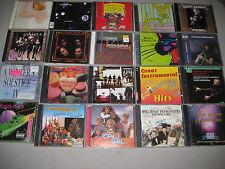 175+-Used Music CD-Box-Bulk-Lot-Wholesale-In-Jewel-Cases G