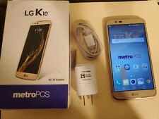 LG K10 - 16GB - Gold NEW (MetroPCS) Smartphone