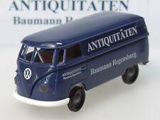 Brekina VW T1 Kasten BAUMANN Antiquitäten, dunkelblau, Auflage 100 - 1:87