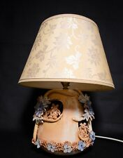 A Large Pottery Lamp and shade from Bamford Pottery featuring An Owl Theme