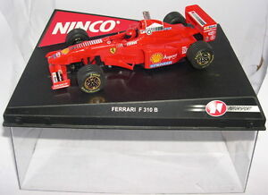 Ninco 50163 Ferrari F310 B F1 #6 British Driver Eddie Irvine MB