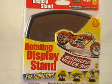 Rotating Display Stand (motorized rotates 360 Uses 1 C Battery)mirrored top 7x7""