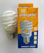 Enérgico 15W es/E27 2700K Baja Bombilla de hélice espiral de ahorro de energía