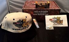 1998 NASCAR Racing Pit Crew Collector 50th Anniversary Car, Hat, & Pin in Kit