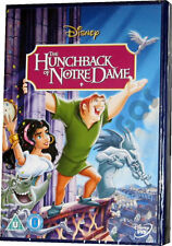 The Hunchback of Notre Dame Walt Disney Animated Childrens Film DVD New Sealed