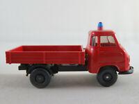"""Wiking 340a/1 Hanomag Kurier Pritsche (1958) """"Feuerwehr"""" 1:87/H0 NEU/unbespielt"""