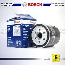 BOSCH OIL FILTER P7203 FITS FORD JAGUAR XE XJ LAND ROVER DISCOVERY RANGE ROVER