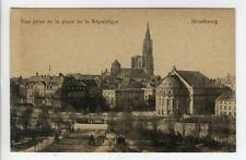 AK Strasbourg, Bas-Rhin, Strassburg, Place de la Republique 1920