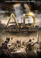 A.D. The Bible Continues (AUTHENTIC DVD 4 Disc Set, 12 Episode Season, New)