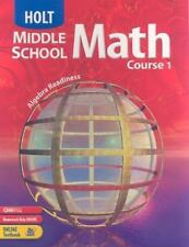Holt Middle School Math: Middle School Math Course 1 by Rinehart and Winston Sta