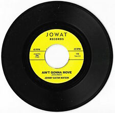 Johnny Guitar Watson 'Ain't Gonna Move' REISSUE