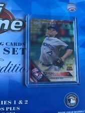 2016 Topps Chrome Blue Sapphire Set Roberto Osuna Blue Jays 121 Superfractor 1/1