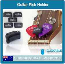 Guitar Bass Pick Holder Rubber Head Clip Acoustic Plectrum Holder Headstock