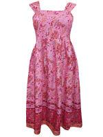 Blair ladies dress size 10/12 14/16 pink sundress border print pinks orange