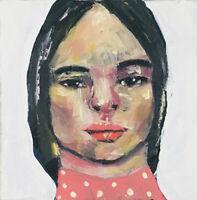 Original Oil Portrait Painting Art True Love Waits by Katie Jeanne Wood