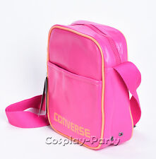 Converse PU Leather iPad Air Carrying Shoulder Messenger Bag Magenta/Orange