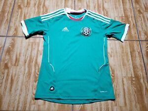 Adidas 2012 Mexico Soccer Jersey Youth Large Green Kids Boy Futbol