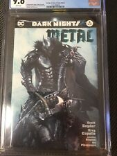Dark Nights Metal #6 Bulletproof Gabriele Dell'Otto Edition Variant CGC 9.6