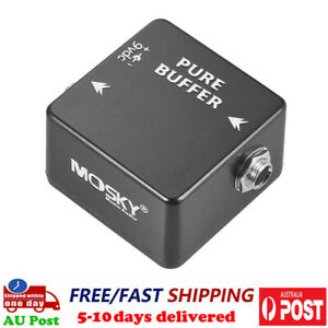 Mosky Pure Buffer Guitar Effect Pedal Professional Pedal Metal Shell Mini Size