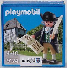 9124 Johanm Wolfgan von Goethe poeta escritor 2016 playmobil,especial,special