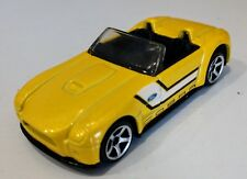 Matchbox Ford Shelby Cobra Concept Car (Yellow) 1/64 Scale Diecast Car Loose!!!