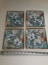 "Set Of 4 ""Home"" Collectable plates By Lena Liu The Bradford Exchange 1998"